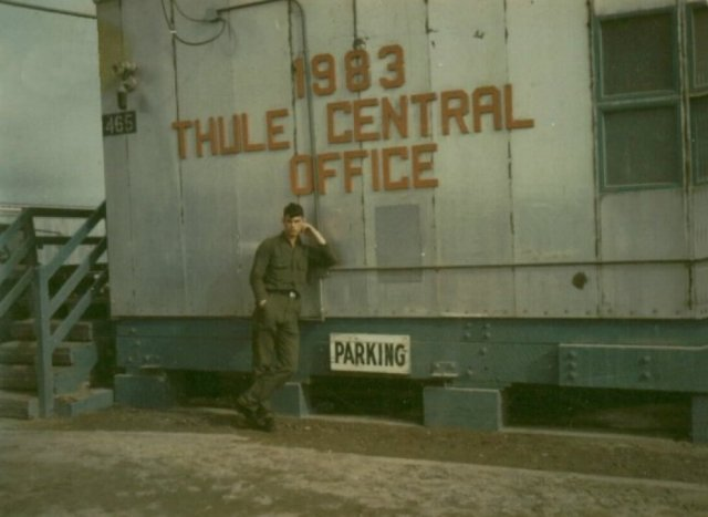 Story from Wayne Kanorr's trip to Thule air base in 1968 - 1969